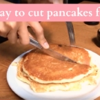 best way to cut pancakes for kids - livingmividaloca.com