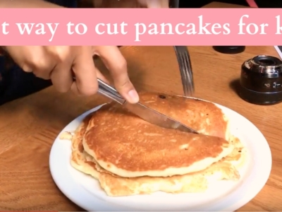 best way to cut pancakes for kids - livingmividaloca.com