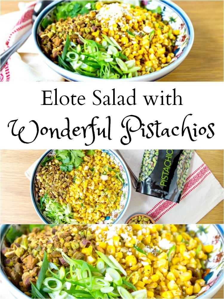 corn salad with pistachios - LivingMiVidaLoca.com