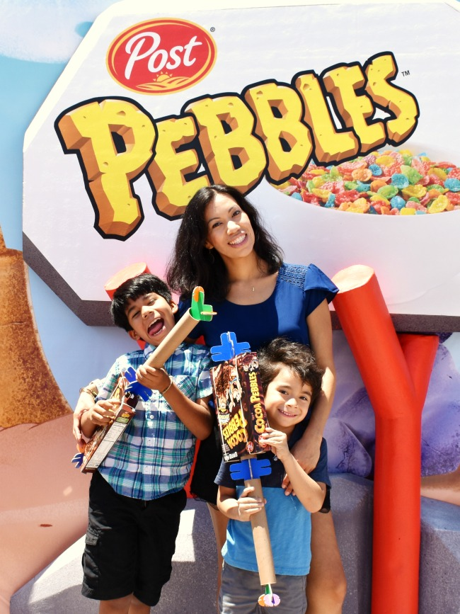 family enjoying Pebbles Play Tour