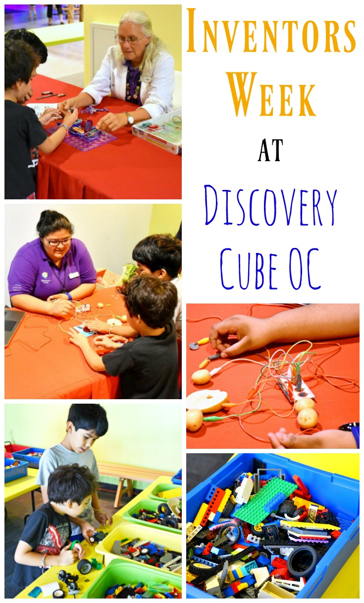 inventors week at discovery cube orange county