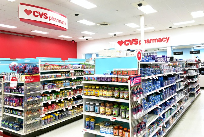Target stores now have CVS Pharmacy inside its stores