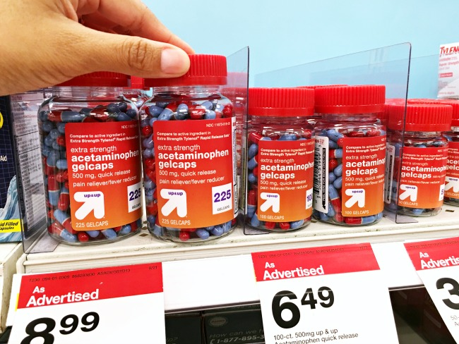 Medicine at CVS Pharmacy at Target stores-livingmividaloca.com