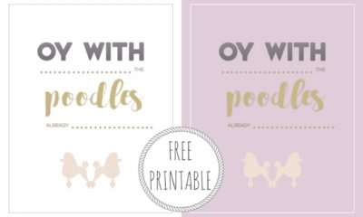 Free Gilmore Girls printable - LivingMiVidaLoca.com