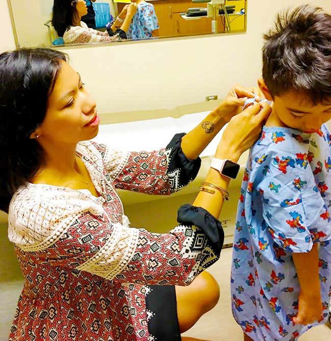 Visiting Kaiser for back-to-school checkup | LivingMiVidaLoca.com