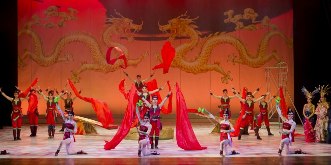Shanghai Acrobats of the People's Republic of China
