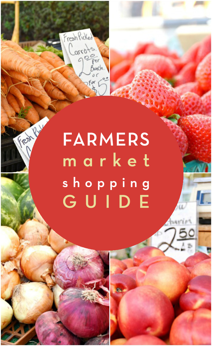 farmers market shopping guide