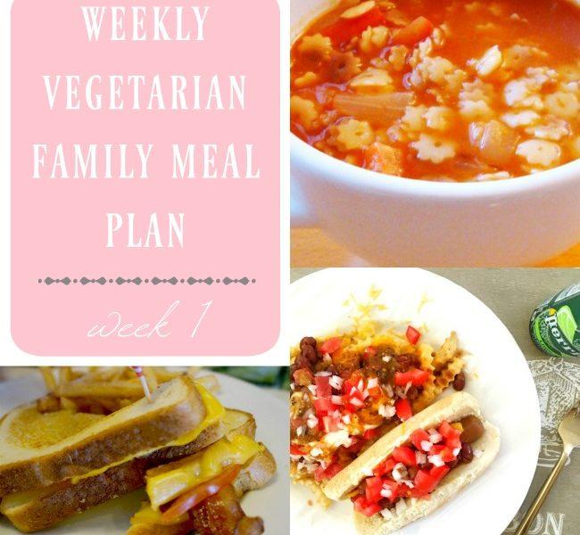 weekly vegetarian family meal plan week 1 living mi. Black Bedroom Furniture Sets. Home Design Ideas