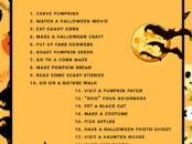 20 Ideas For Your Halloween Bucket List 2016 - livingmividaloca.com