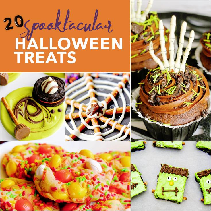 Save these 20 creative and spooktacular Halloween Treats recipes for that upcoming Halloween party. - LivingMiVidaLoca.com