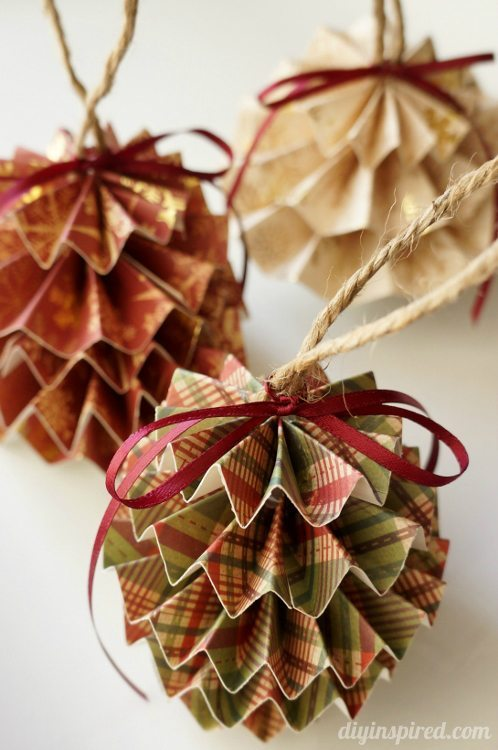 paper christmas ornaments - Christmas Ornament Craft