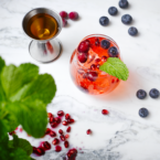 cheers to the election with some patriotic-themed cocktail recipes, as seen below, from zero-calorie, Sparkling Ice