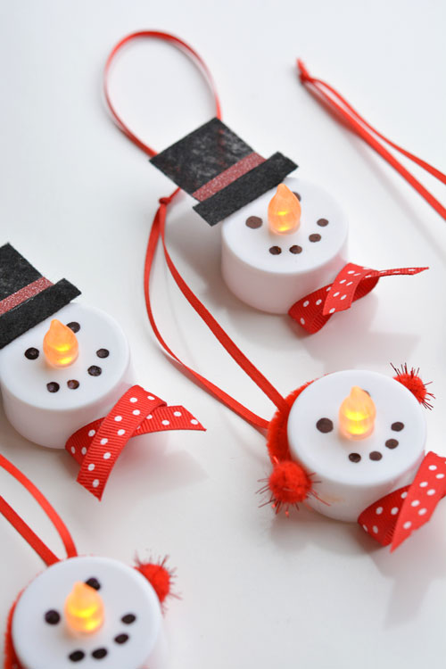 DIY snowmen decorations - livingmividaloca.com