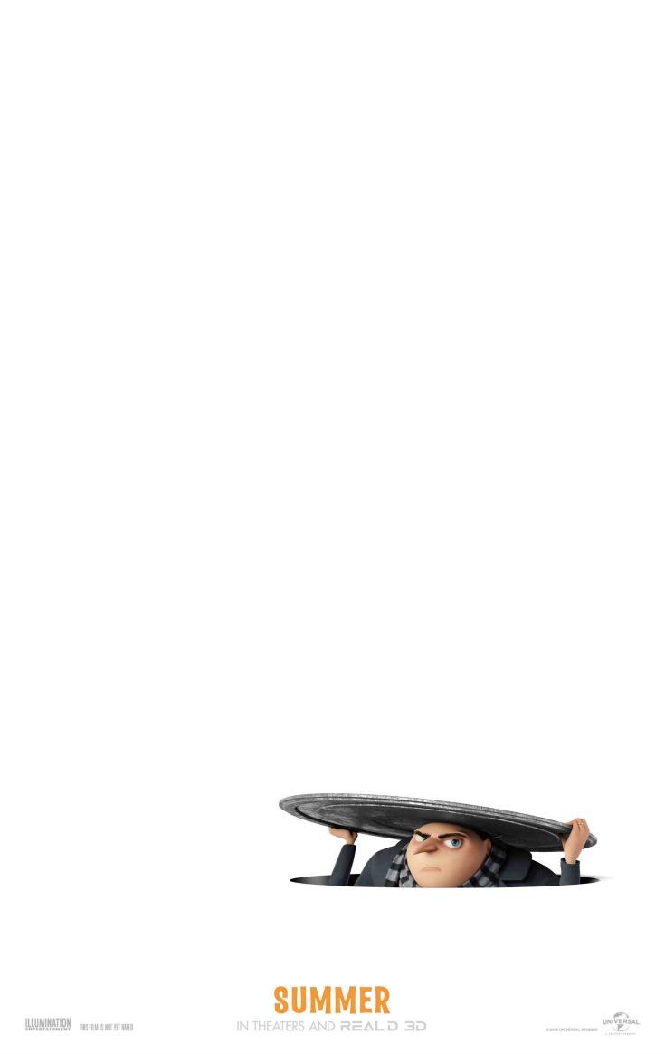 Despicable Me 3 poster - LivingMiVidaLoca.com