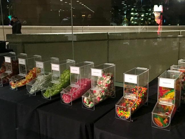 Candy bar at The Nutcracker - LivingMiVidaLoca.com