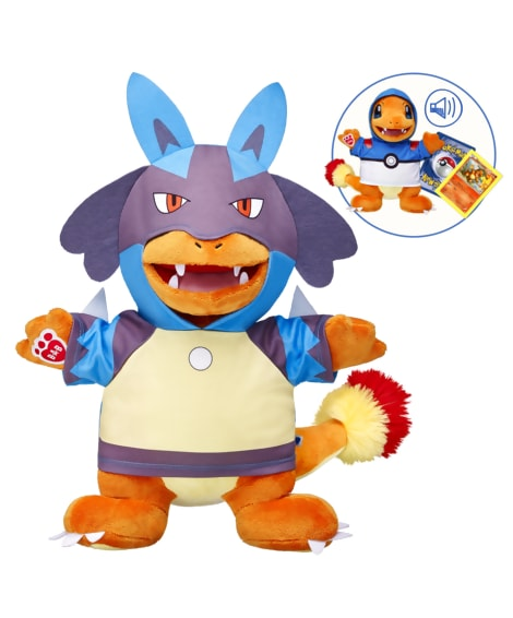 Charmander at Build-a-Bear Workshop limited edition - LivingMiVidaLoca.com