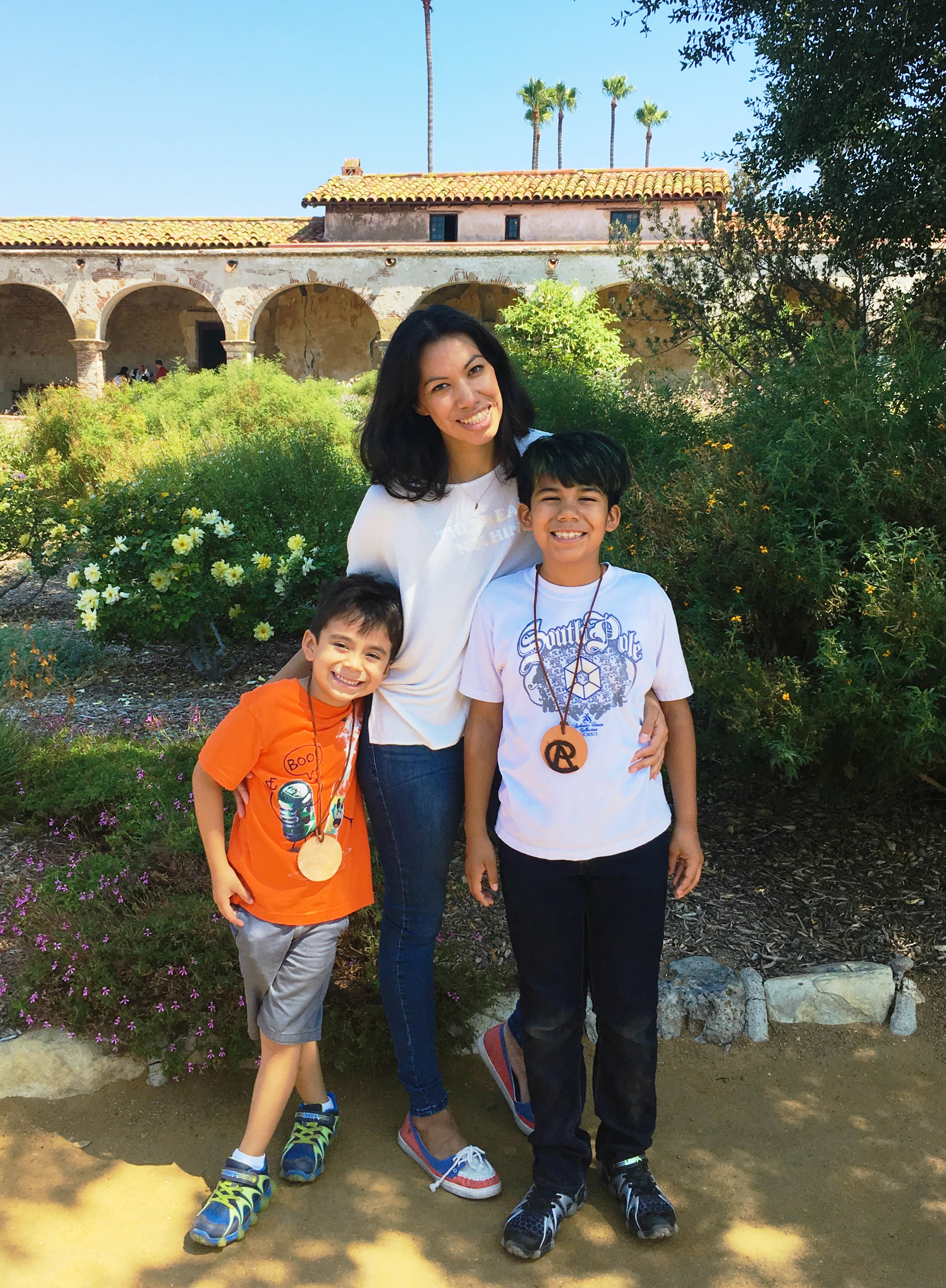 Visiting Mission San Juan Capistrano with kids - LivingMiVidaLoca.com