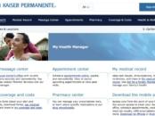 Kaiser Permanente online portal - LivingMiVidaLoca.com