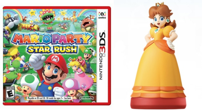 Mario Party Star Rush and Daisy Amiibo