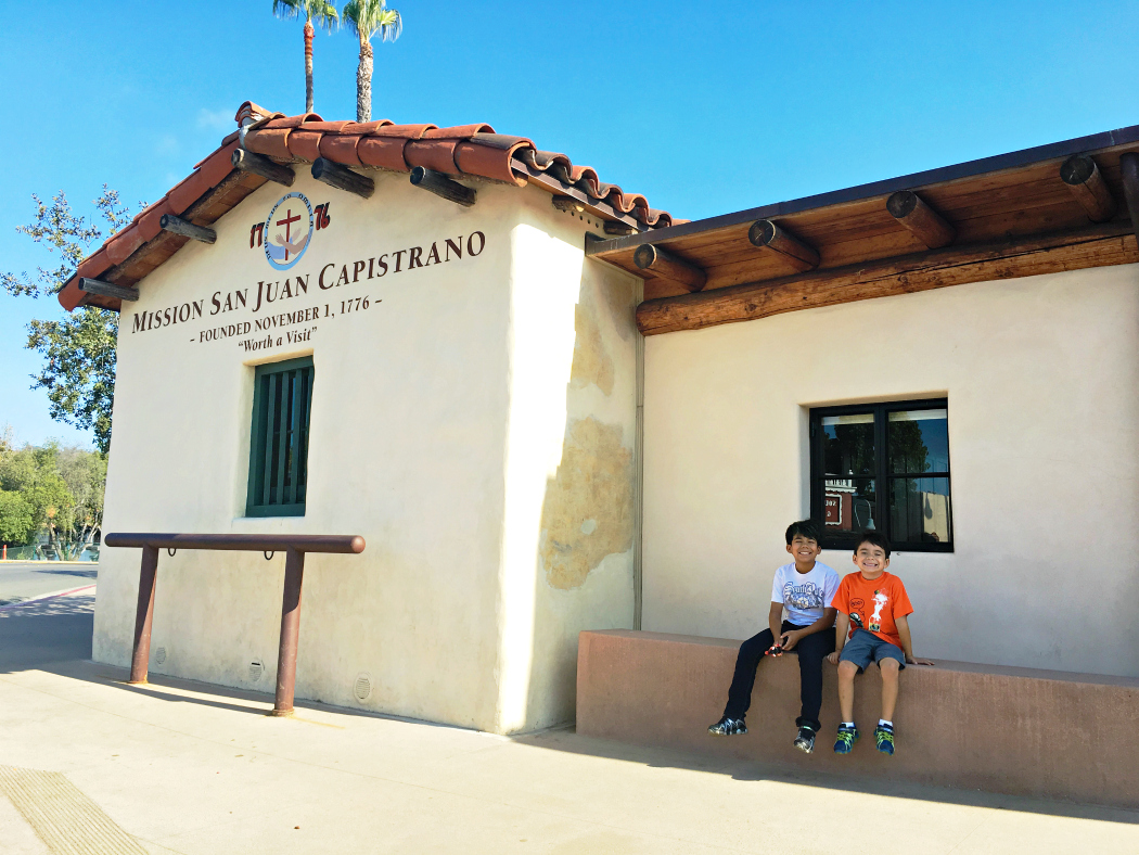 Visiting Mission San Juan Capistrano with kids - LivingMiVidaLoca.com