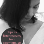 Tips for faster recovery from breast implants - LivingMiVidaLoca.com
