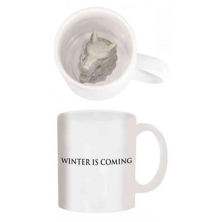 Game of Thrones dire wolf mug