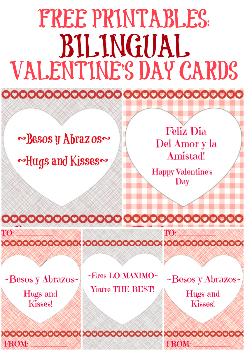 Free Valentine's Day Printables in Spanish