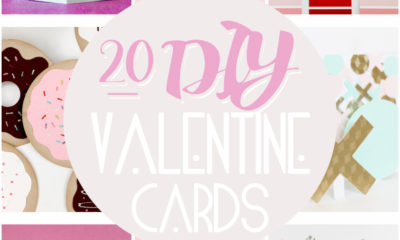 DIY Valentine's Day Cards - LivingMiVidaLoca.com