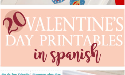 20 Valentine's Day Printables in Spanish