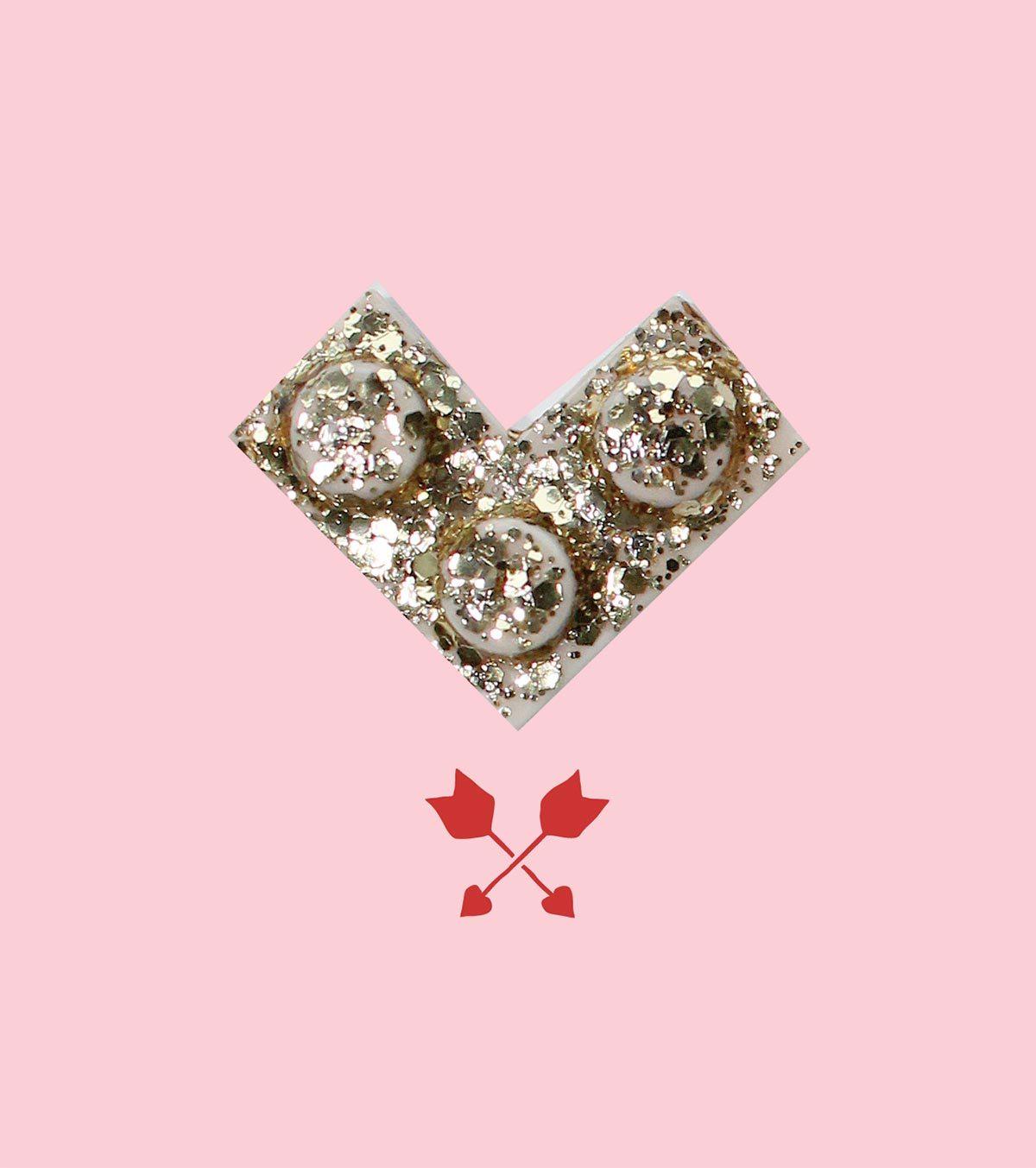 LEGO Valentine's Day card - LivingMiVIdaLoca.com
