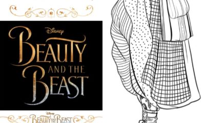 Beauty and the Beast Coloring Pages for Adults - LivingMiVidaLoca.com