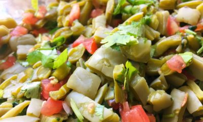 How to make Mexican cactus salad recipe - LivingMiVidaLoca.com