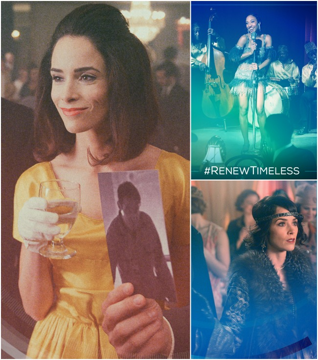 Favorite female characters on NBC Timeless - LivingMiVidaLoca.com