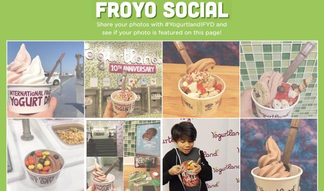 Froyo social page at yogurtland - Livingmividaloca.com