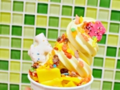New chocolate flavors at Yogurtland - LivingMiVidaLoca.com