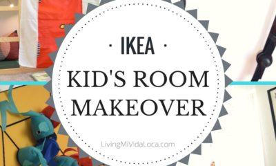 IKEA Kid's Room Makeover Ideas and Tips - LivingMiVidaLoca.com