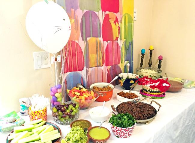 How to set up an easy Easter lunch - livingmividaloca.com