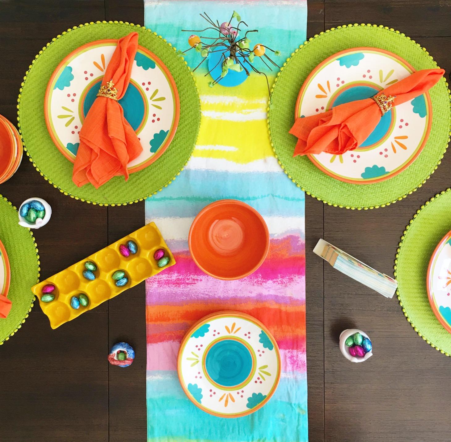 Easter tablescape - livingmividaloca.com