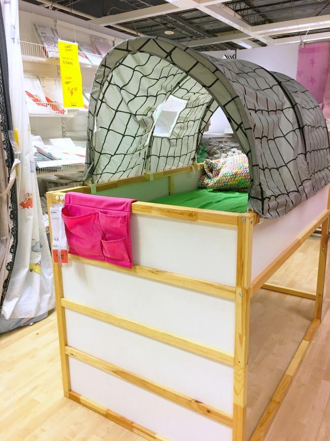 KILJA loft bed for kids at IKEA - livingmividaloca.com