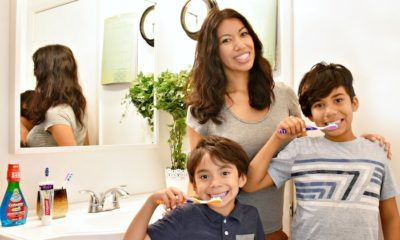 Colgate Oral Health Month with Pattie Cordova and boys - livingmividaloca.com