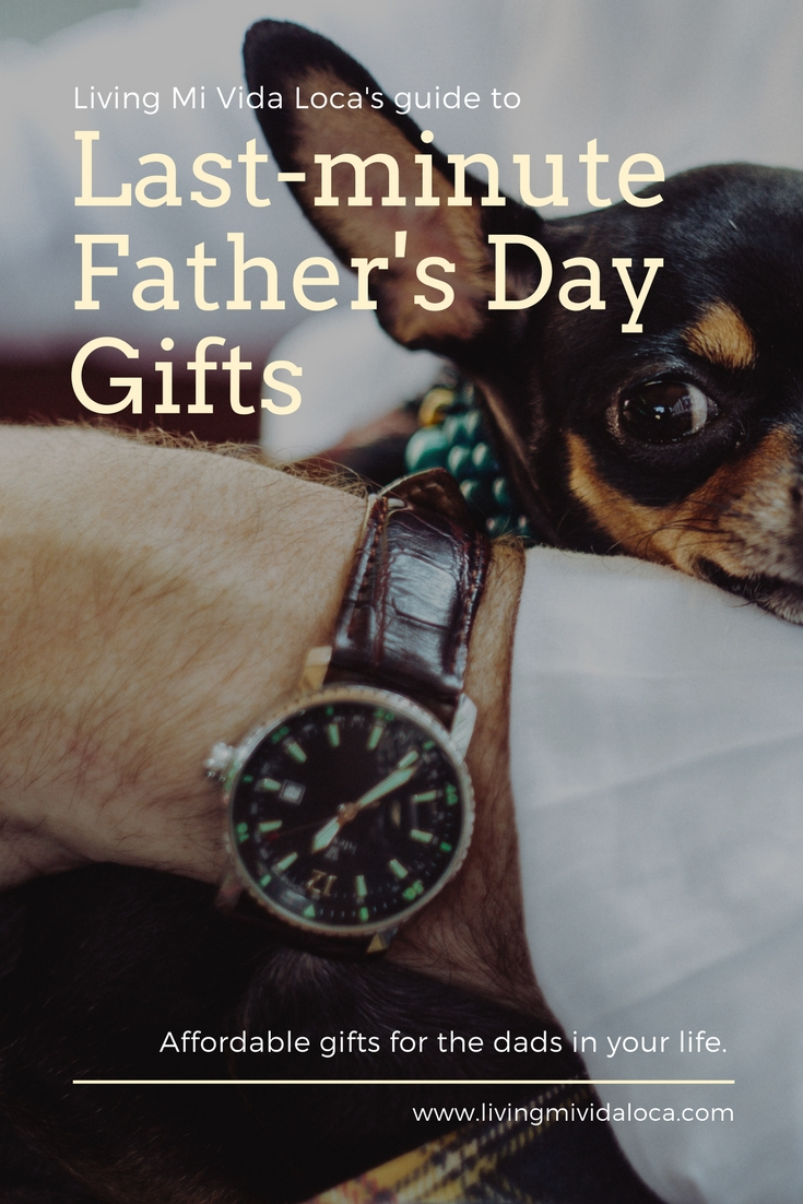 Last minute Father's Day gift guide - LivingMiVidaLoca.com