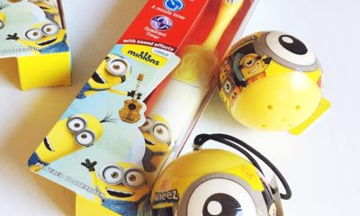 Despicable Me Toothbrush and toys