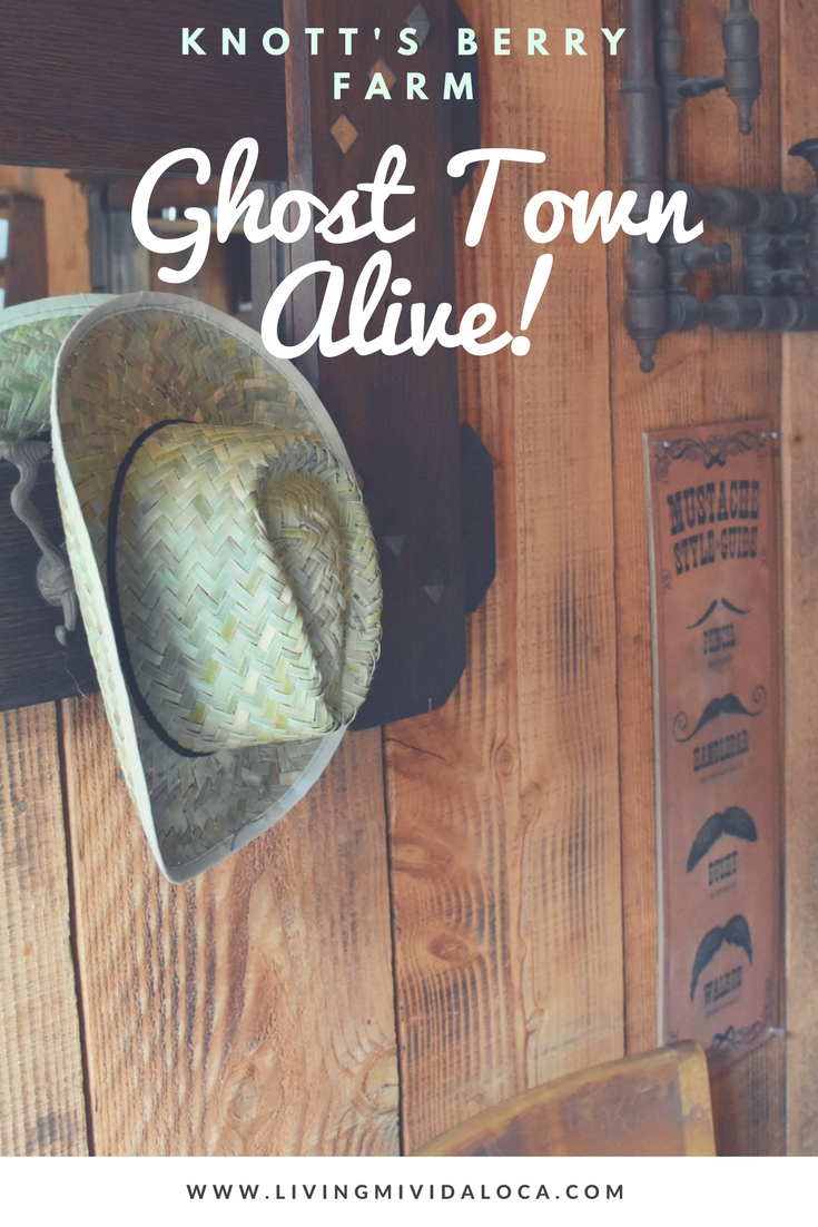 Ghost Town Alive at Knott's Berry Farm - LivingMiVidaLoca.com