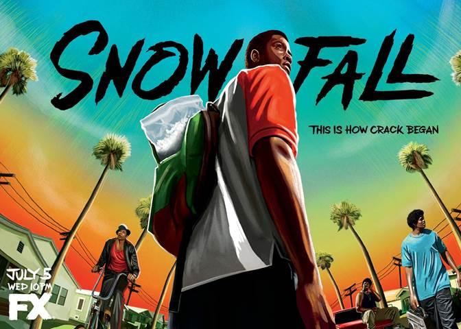 FX's Snowfall event - livingmividaloca.com