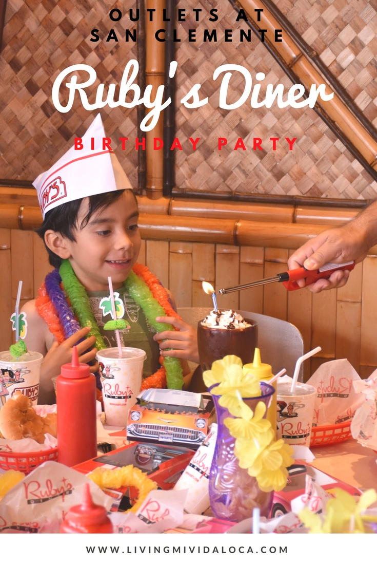 "Tiki Party / ""Ruby's Diner 6th Birthday Party!!"" A tiki theme birthday party with shake shooters, burgers and ice cream cones. See more party planning ideas at LivingMiVidaLoca!"
