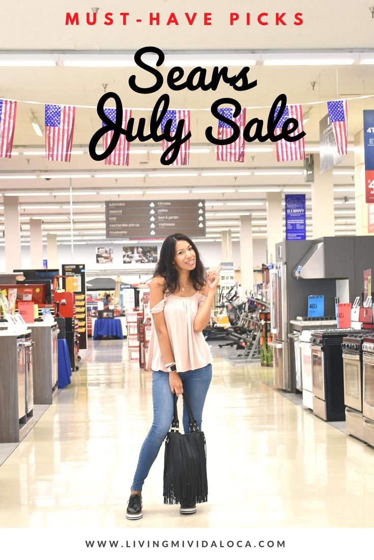 Sears July sale must have picks - LivingMiVidaLoca.com