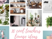 Cool teachers lounge ideas from IKEA catalog 2017 - LivingMiVidaLoca.com
