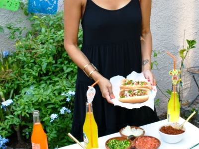 family recipe for spicy Mexican hot dogs - LivingMiVidaLoca.com