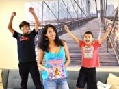 Groovy Joe Dance Party Countdown reading party - LivingMiVidaLoca.com | ad