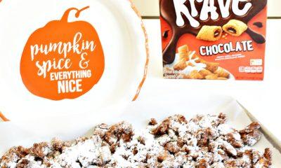 Easy pumpkin spice muddy buddies recipe - livingmividaloca.com